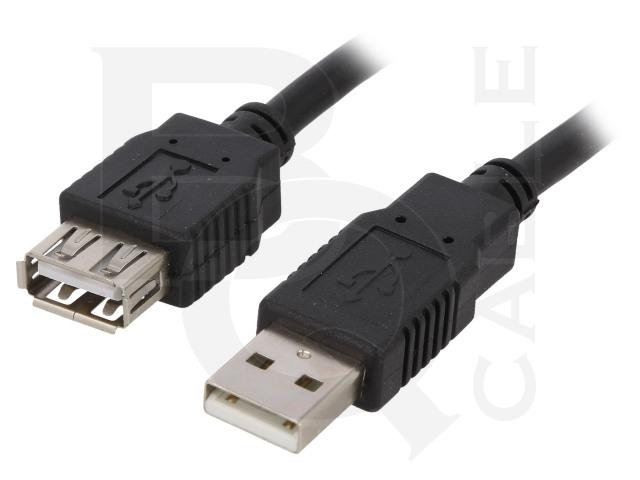 CAB-USBAAF/5-BK BQ CABLE, Kabel