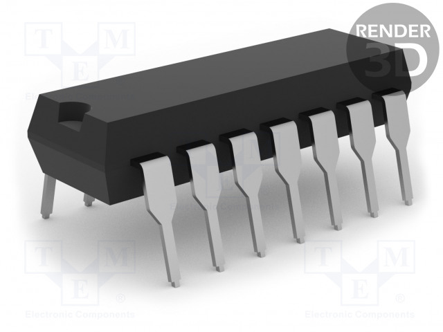 MICROCHIP (ATMEL) AT89LP214-20PU - 8051 mikro-ohjain