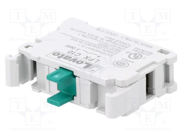 LOVATO ELECTRIC LPXC10 - Kosketinelementti