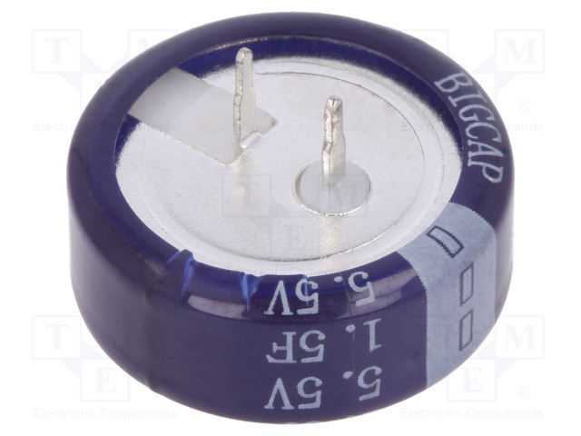 BIGCAP BCE005R5C155FS - Kondenzátor: elektrolytický
