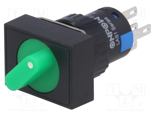 ONPOW V16-11XAJ-2-24N - Switch: rotary
