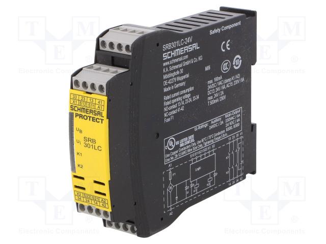 SCHMERSAL SRB301LC 24VAC/DC - Module: safety relay