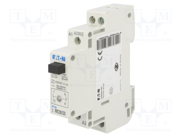EATON ELECTRIC Z-RK230/SO - Relé: instalační