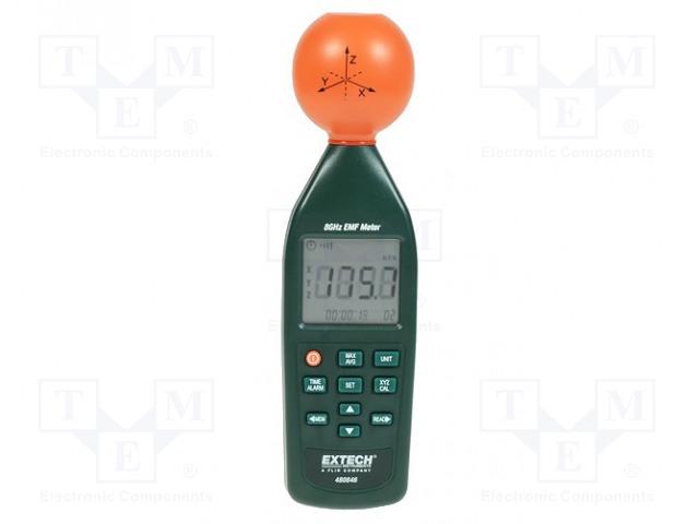 EXTECH 480846 - Aparat de măsură: intensitate câmp electromagnetic
