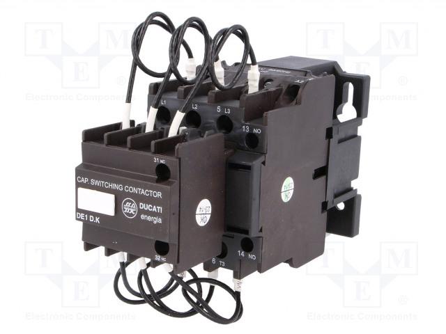 DUCATI ENERGIA DE1-D25K11 P7 - Contactor: 3-pole