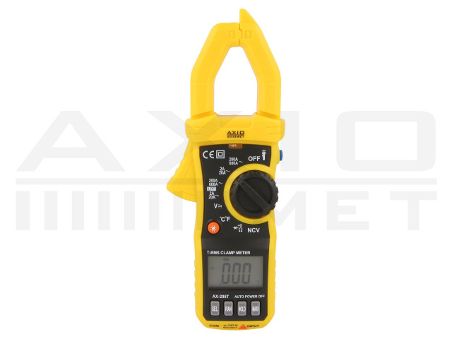 AX-205T AXIOMET, AC digital clamp meter