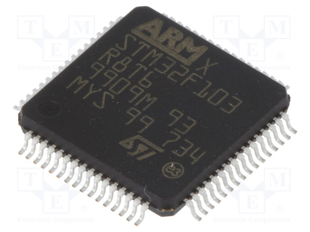 STMicroelectronics STM32F103R8T6 - ARM microcontroller