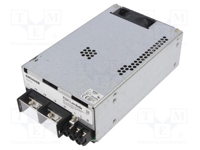 TDK-LAMBDA RWS600B-48 - Power supply: switched-mode