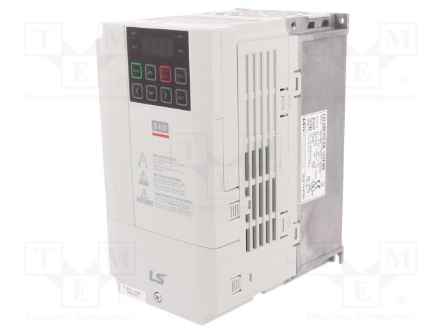 LS INDUSTRIAL SYSTEMS LSLV0015 S100-1EOFNM - Vector inverter