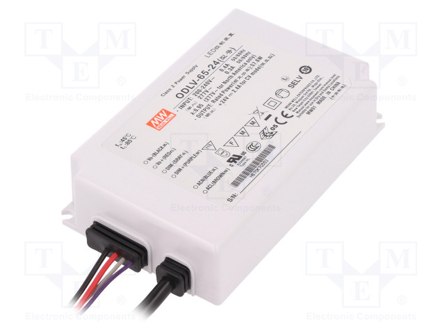 MEAN WELL ODLV-65-24 - Power supply: switched-mode