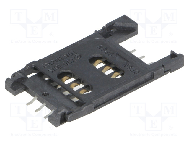 AMPHENOL C707 10M006 049 2A - Konektor: pro karty