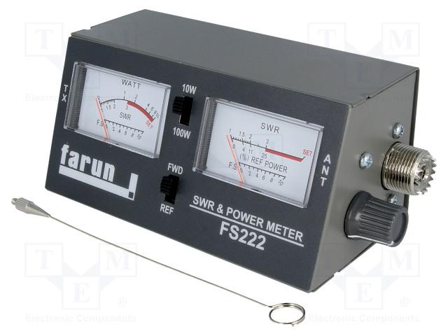 FARUN FS222 - Měřicí přístroj: SWR