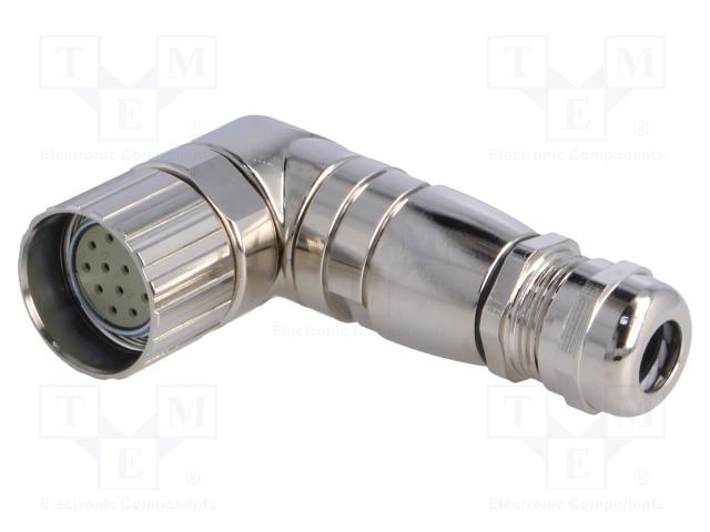 BULGIN PXMBNI23RAF12ASC - Connector: M23