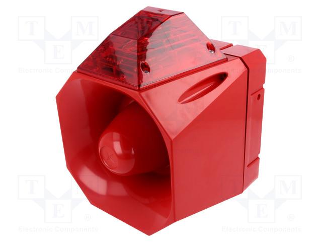 EATON ELECTRIC AS/SB/230/R/120/RL - Signaller: lighting-sound