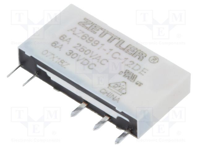ZETTLER AZ6991-1C-12DE - Relay: electromagnetic