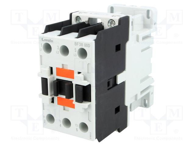 LOVATO ELECTRIC BF3800D024 - Kontaktori: 3-napainen