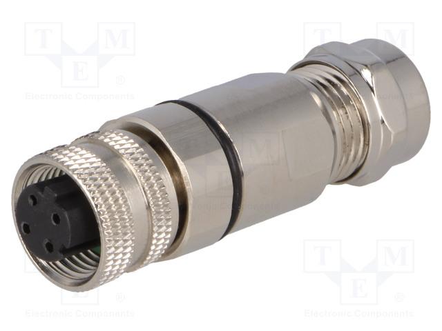 BULGIN PXMBNI12FBF04DSCPG7 - Plug