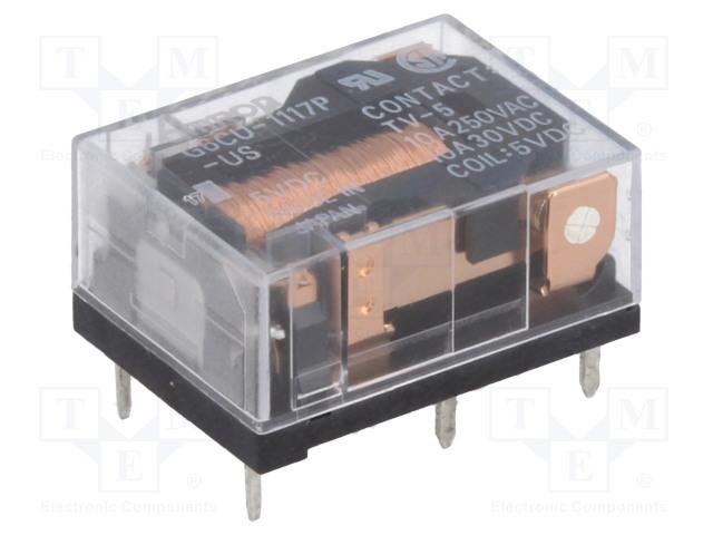 OMRON G6CU-1117P-US 5VDC - Relé: elektromagnetické