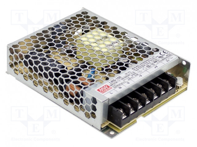 MEAN WELL LRS-100-24 - Power supply: switched-mode
