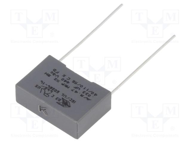KEMET R474I23305001K - Kondensator: Polypropylen