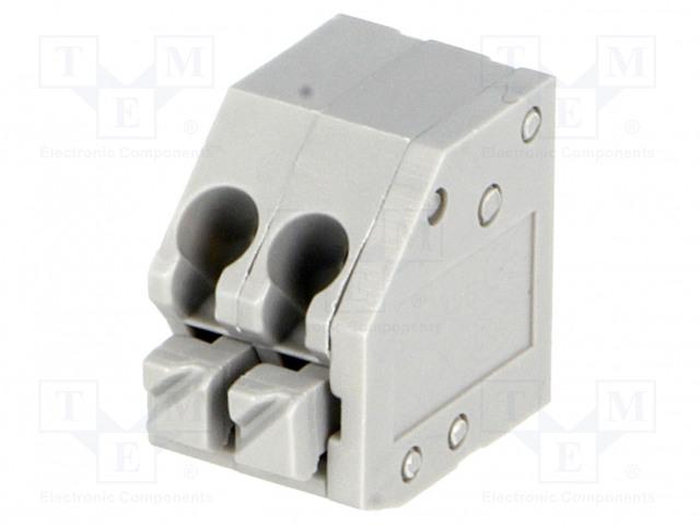 DEGSON ELECTRONICS DG250-3.5-02P-11-00A(H) - Barre de serrage pour PCB