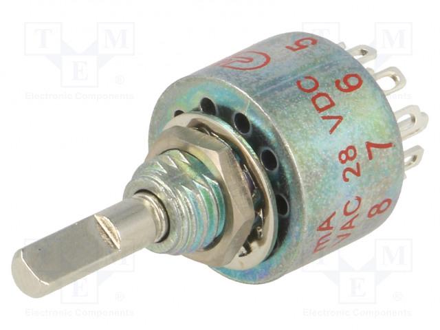 C&K MB00-L1-N-Z-Q-D - Schalter: Dreh-