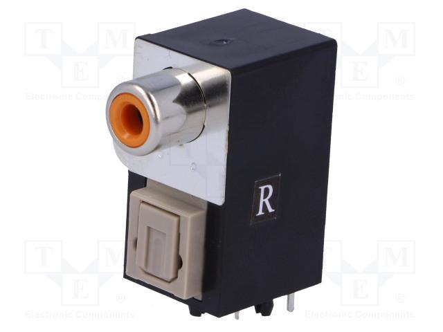 CLIFF ORJ-6 FCR684206R - Konektor: optické (Toslink) + RCA