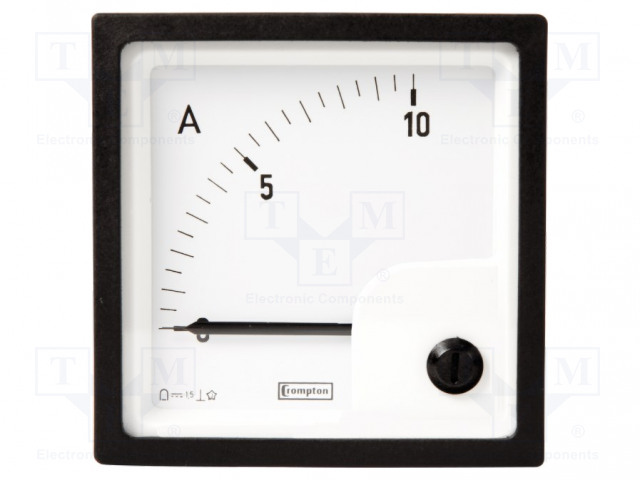 CROMPTON - TE CONNECTIVITY 039-90125-0080-0-60MV-0-80A - Amperometer