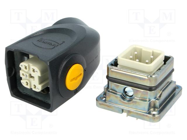 HARTING 87082101432 - Steckverbinder: HAN