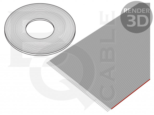 FLC-60/30-E BQ CABLE, Leiding