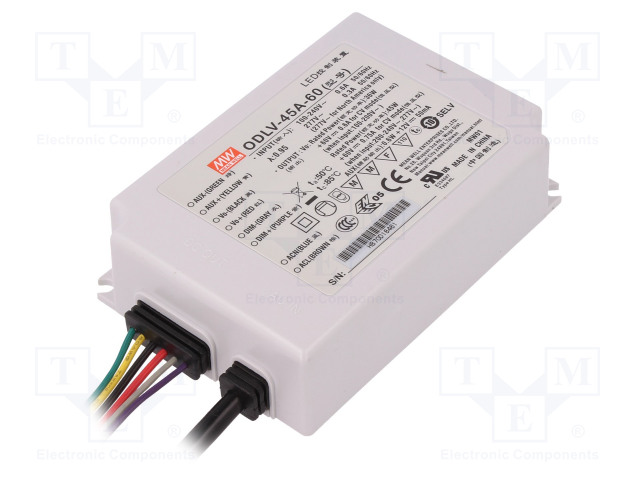 MEAN WELL ODLV-45A-60 - Power supply: switched-mode