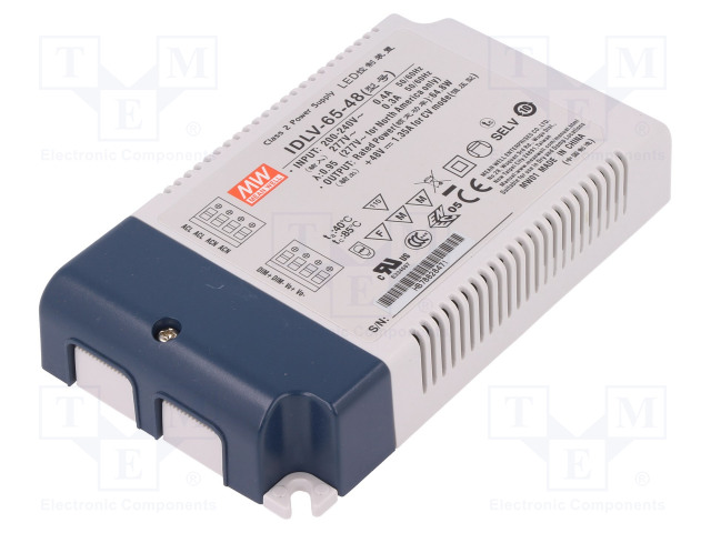 MEAN WELL IDLV-65-48 - Power supply: switched-mode