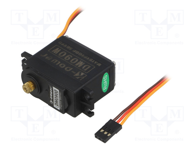 K-POWER DM090W - Motor: servomecanismo