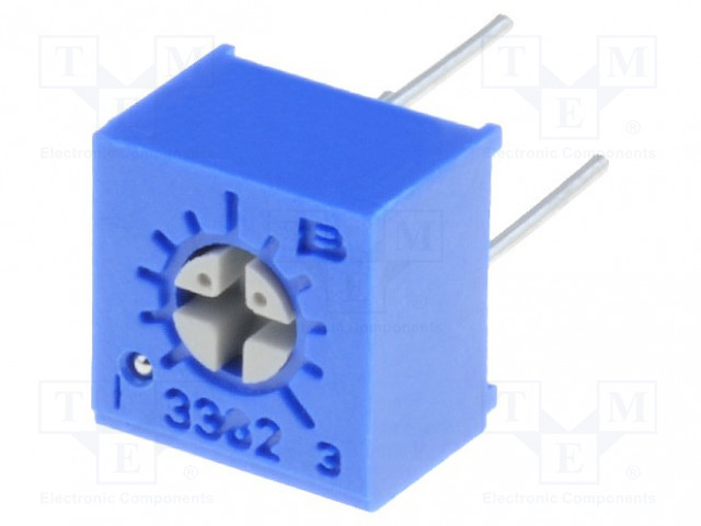 BOURNS 3362P-1-502LF - Potentiometer: mounting