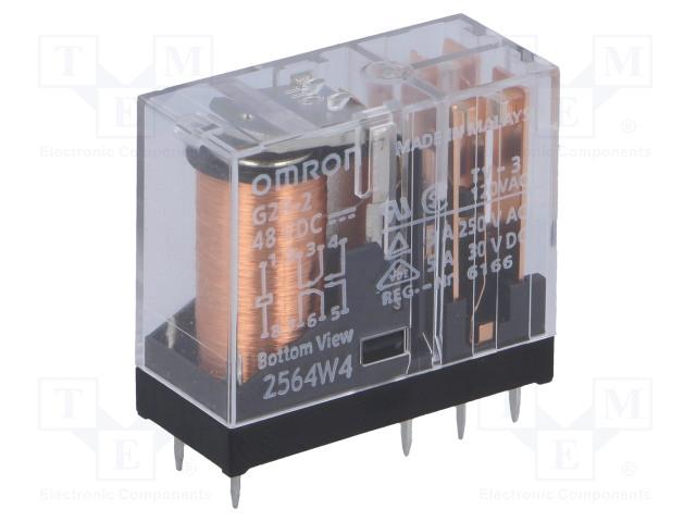 OMRON OCB G2R-2 48VDC - Ρελέ: Ηλεκτρομαγνητικός