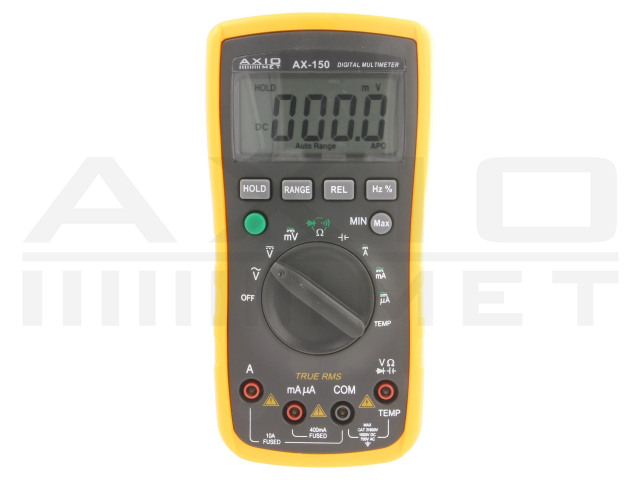 AX-150 AXIOMET, Digitale multimeters