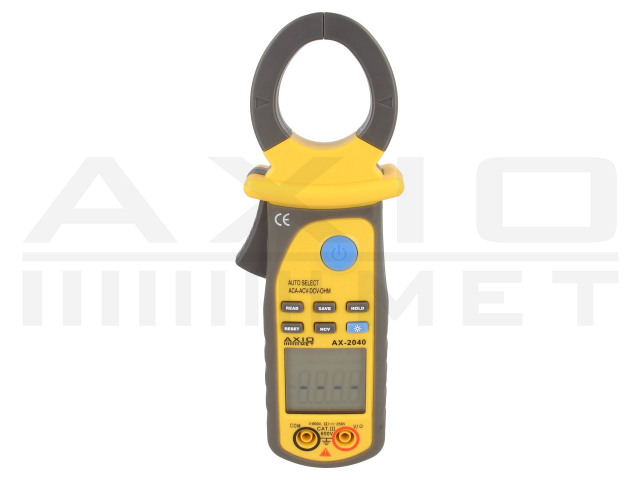 AX-2040 AXIOMET, AC digital clamp meter
