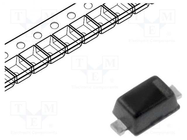 DIODES INCORPORATED 1N4148WTQ-7 - Diode: switching