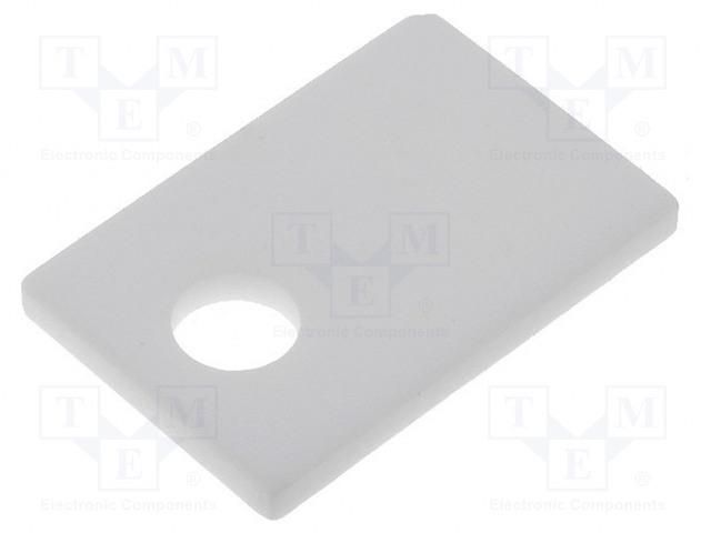 FISCHER ELEKTRONIK AOS 220 4 - Tepelně vodivá podložka: keramická