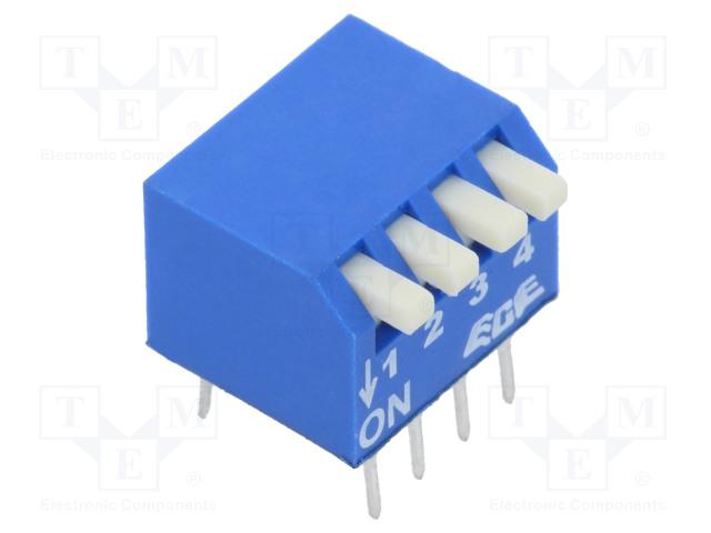 ECE EPS104AZ - Switch: DIP-SWITCH