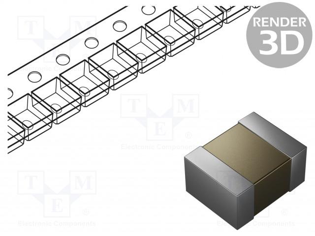 MURATA GRM32ER71H106KA12L - Capacitor: ceramic