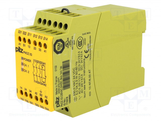 PILZ 774318 - Module: safety relay