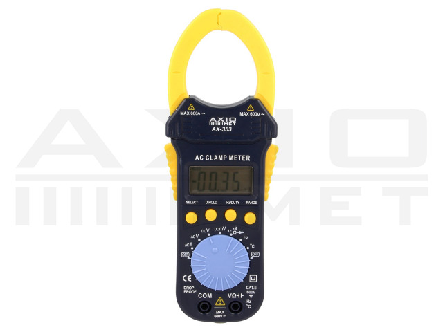 AX-353 AXIOMET, AC digital clamp meter