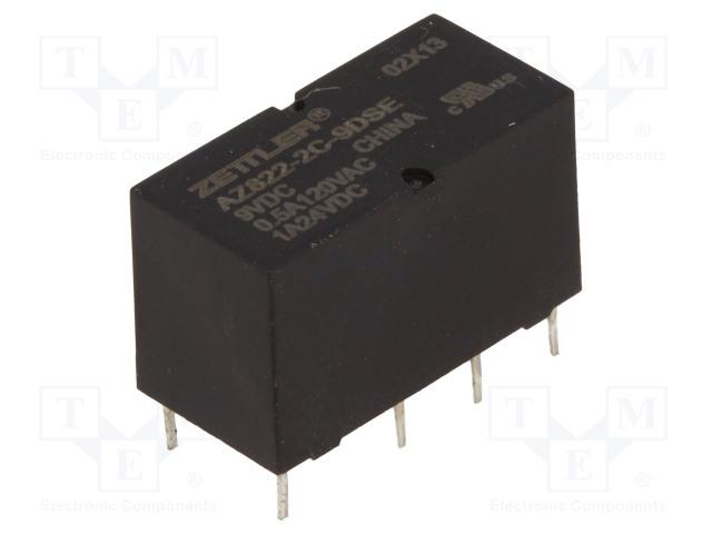 ZETTLER AZ822-2C-9DSE - Relay: electromagnetic