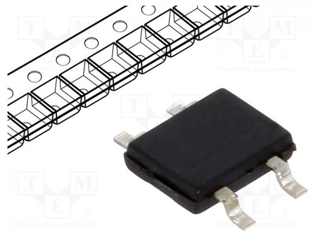 DIOTEC SEMICONDUCTOR MB4S - Single-phase bridge rectifier