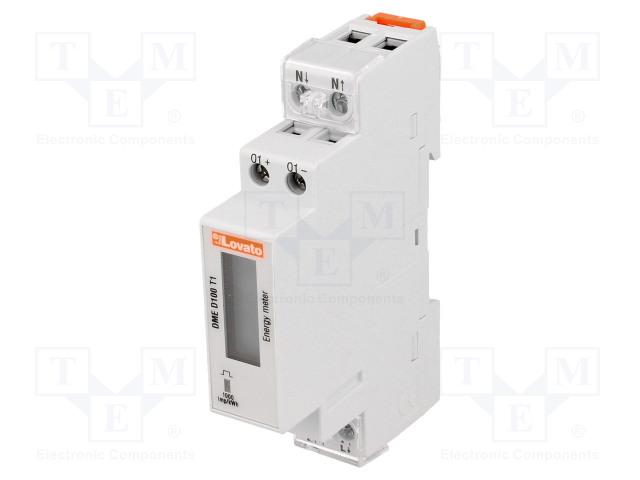 LOVATO ELECTRIC DME D100 T1 - Sähköenergian laskurit