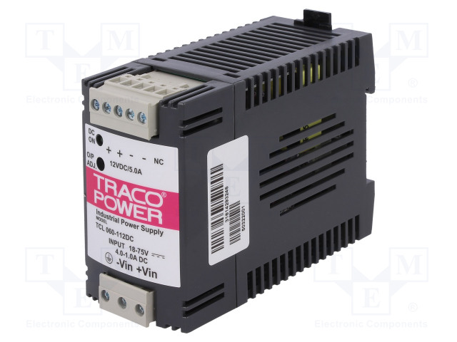 TRACO POWER TCL 060-112 DC - Converter: DC/DC