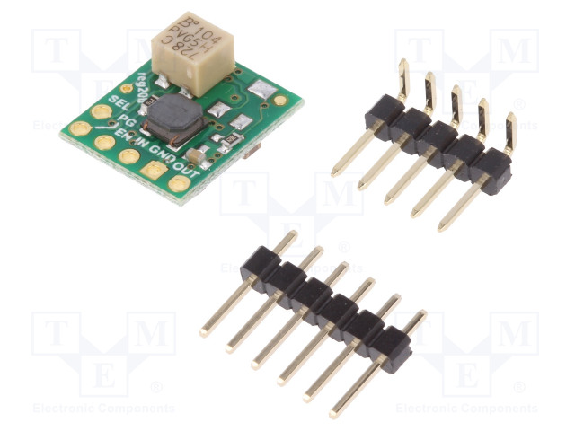 POLOLU 3.3V STEP-UP/STEP-DOWN S9V11F3S5CMA - Converter: step up / step down