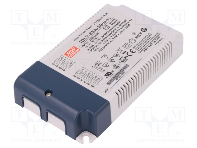 MEAN WELL IDLV-65A-36 - Power supply: switched-mode