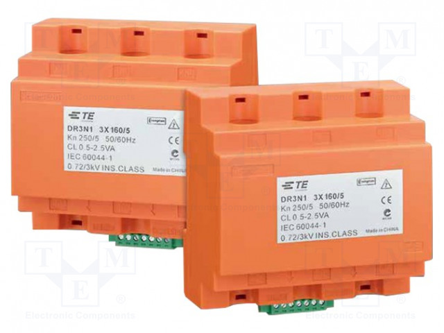CROMPTON - TE CONNECTIVITY DR3N1250/5A - Current transformer